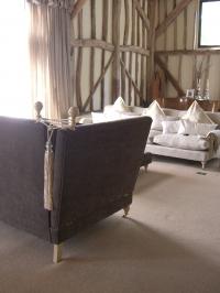 Oversized bespoke sofas