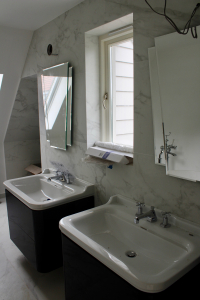 Art Deco touces to the Master Bathroom
