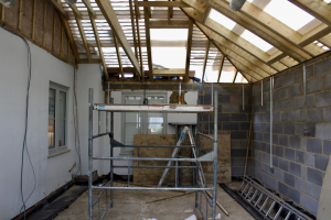 Extension takes shape