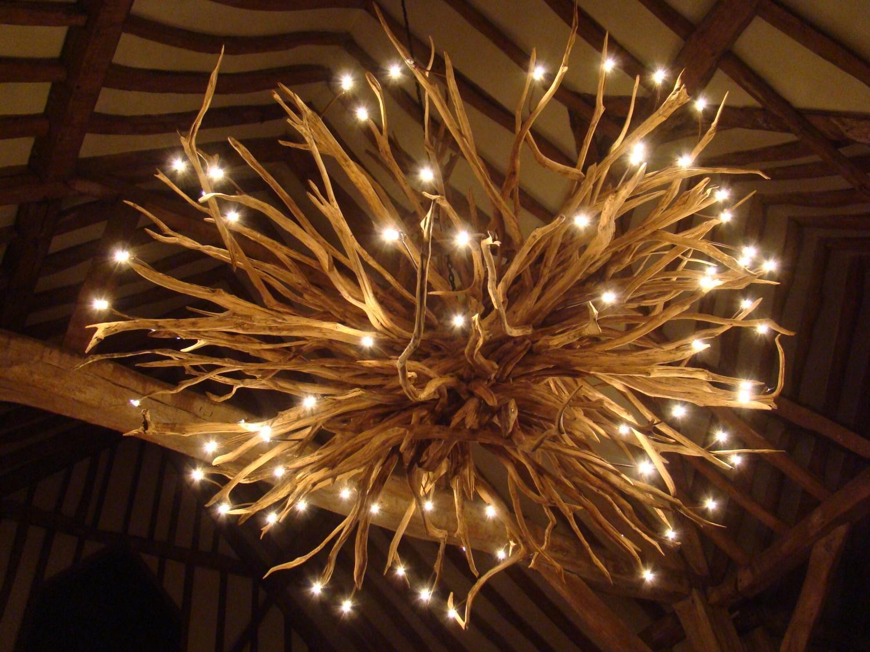 Bespoke oak chandelier in chandeliers bespoke oak chandelier picture 3 arubaitofo Images