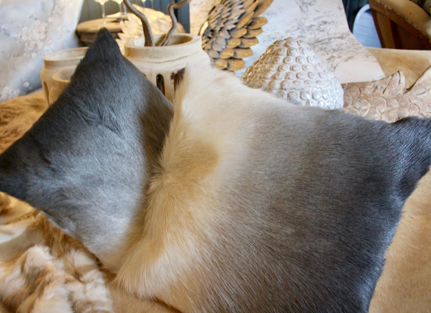 Goat Hide Cushion