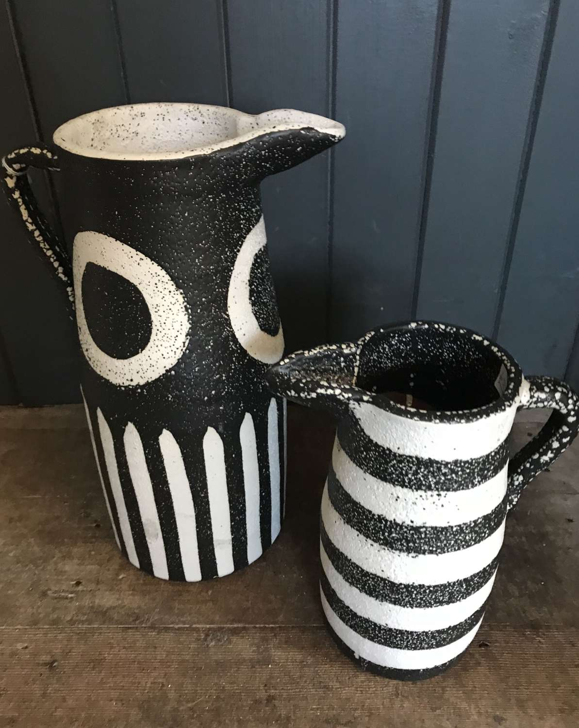 Black & White Pitchers