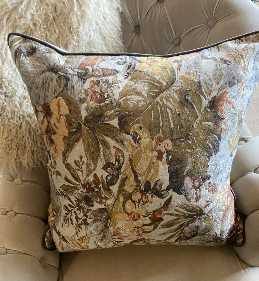 Exotic Birds Cushion