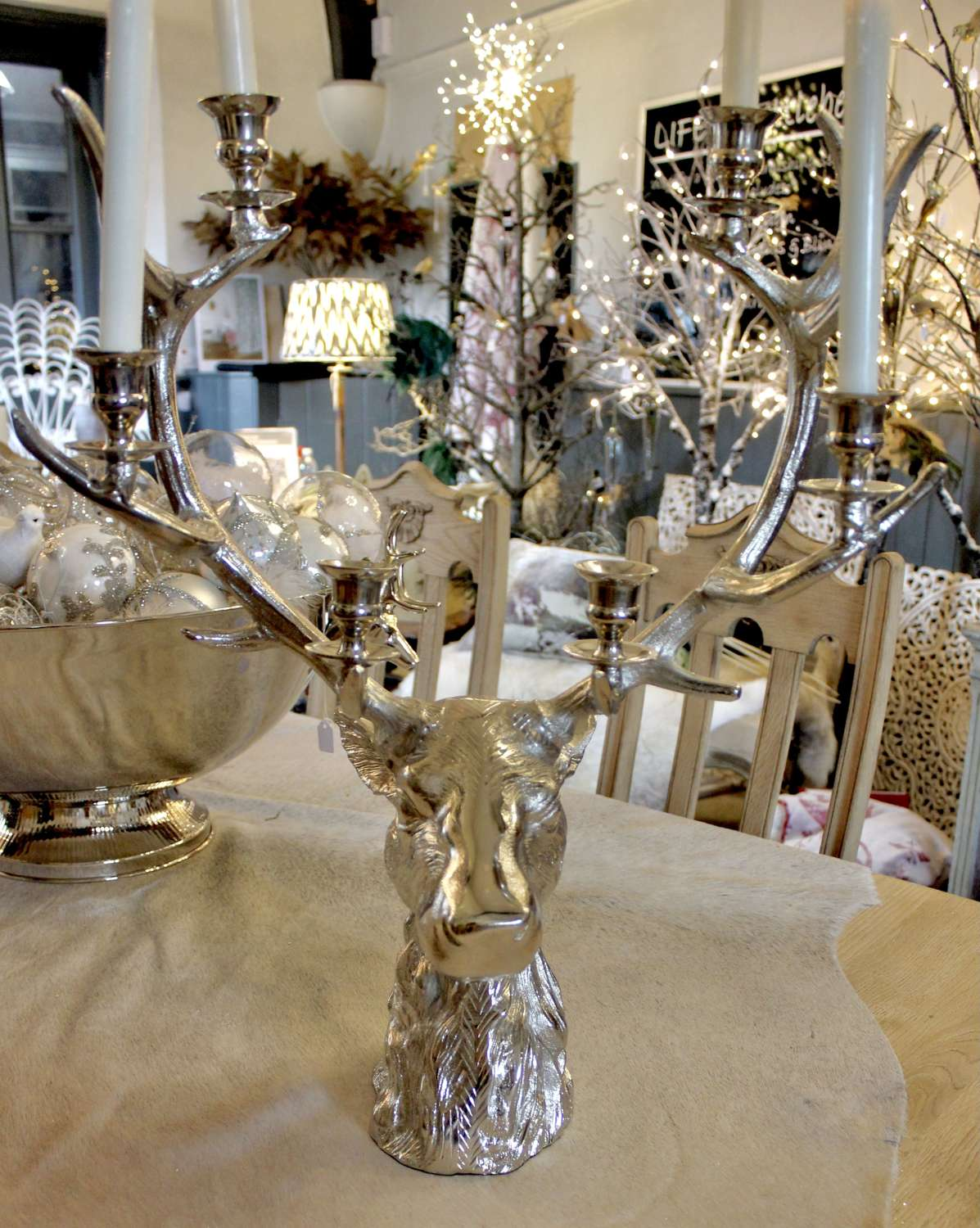 Stag-head Candelabra