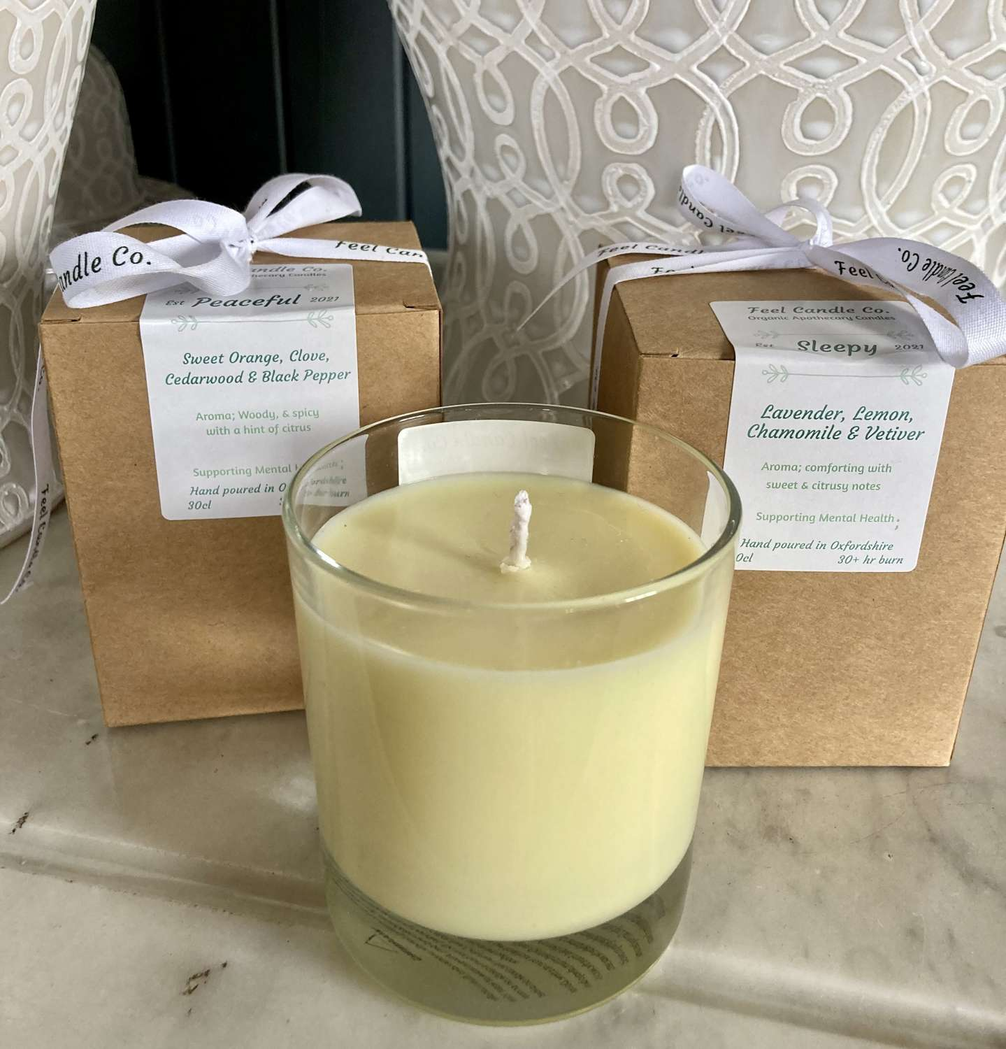 Feel Candle Co Aromatherapy Candles